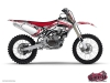 Kit Déco Moto Cross Spirit Yamaha 125 YZ Rouge
