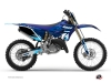 Kit Déco Moto Cross Stage Yamaha 125 YZ Bleu