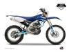 Kit graphique Moto Cross Stage Yamaha 250 WRF Bleu LIGHT