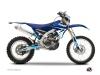 Yamaha 450 WRF Dirt Bike Stage Graphic Kit Blue
