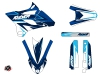 Kit Déco Moto Cross Stage Yamaha 85 YZ Bleu LIGHT