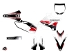 Yamaha 250 YZ Dirt Bike Stripe Graphic Kit Red