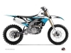 Kit Déco Moto Cross Stripe Yamaha 450 YZF Noir