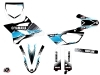 Kit Déco Moto Cross Stripe Yamaha 85 YZ Noir