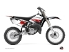 Kit Déco Moto Cross Stripe Yamaha 85 YZ Rouge