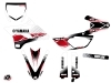 Yamaha 85 YZ Dirt Bike Stripe Graphic Kit Red