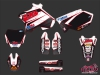 Yamaha 250 YZ Dirt Bike Replica Team 2b Graphic Kit 2010