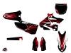 Yamaha 125 YZ Dirt Bike Techno Graphic Kit Red