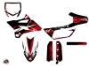 Yamaha 85 YZ Dirt Bike Techno Graphic Kit Red