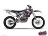 Yamaha 250 YZF Dirt Bike Trash Graphic Kit Black Pink
