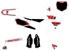Kit Déco Moto Cross Vintage Yamaha 250 YZF Rouge