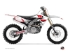 Yamaha 450 YZF Dirt Bike Vintage Graphic Kit Red