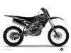 Yamaha 250 YZF Dirt Bike Zombies Dark Graphic Kit Black