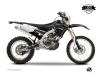 Kit Déco Moto Cross Zombies Dark Yamaha 450 WRF Noir LIGHT