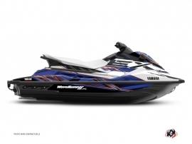 Yamaha EX Jet-Ski Mission Graphic Kit White Blue