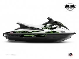 Yamaha EX Jet-Ski Mission Graphic Kit White Green LIGHT