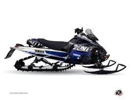 Kit Déco Motoneige Mission Yamaha FX Nitro Bleu