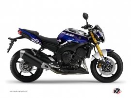 Yamaha FZ 8 Street Bike Mission Graphic Kit Blue