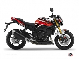Yamaha FZ 8 Street Bike Mission Graphic Kit Red