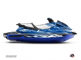 Yamaha GP 1800 Jet-Ski Mission Graphic Kit Blue
