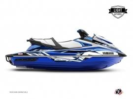 Yamaha GP 1800 Jet-Ski Mission Graphic Kit Blue LIGHT
