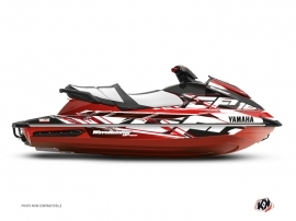 Yamaha GP 1800 Jet-Ski Mission Graphic Kit Red