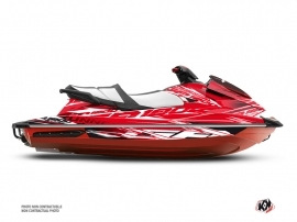 Yamaha GP 1800 Jet-Ski Mission Graphic Kit Red