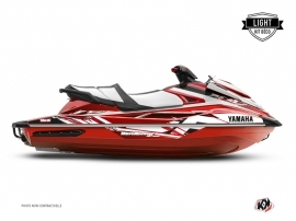 Yamaha GP 1800 Jet-Ski Mission Graphic Kit Red LIGHT