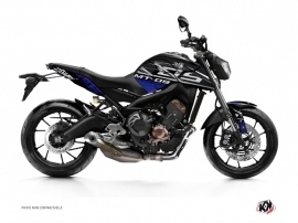 Yamaha MT 09 Street Bike Mission Graphic Kit Blue