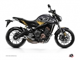 Yamaha MT 09 Street Bike Mission Graphic Kit Brown