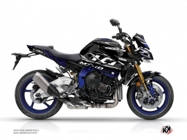 Yamaha MT 10 Street Bike Mission Graphic Kit Blue