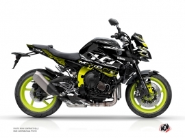Yamaha MT 10 Street Bike Mission Graphic Kit Yellow