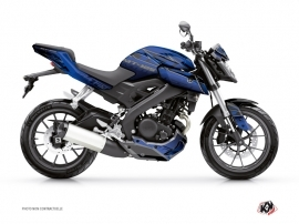 Yamaha MT 125 Street Bike Mission Graphic Kit Blue Black