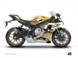 Yamaha R1 Street Bike Mission Graphic Kit Brown