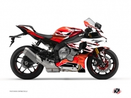 Yamaha R1 Street Bike Mission Graphic Kit Red