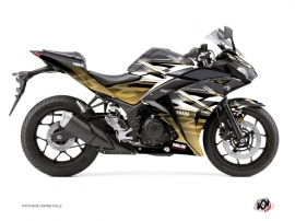 Yamaha R3 Street Bike Mission Graphic Kit Brown