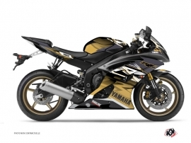Yamaha R6 Street Bike Mission Graphic Kit Brown