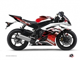 Yamaha R6 Street Bike Mission Graphic Kit Red