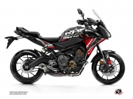 Yamaha TRACER 900 Street Bike Mission Graphic Kit Red