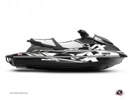 Yamaha VX Jet-Ski Mission Graphic Kit Black Grey