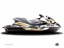 Yamaha VXR-VXS Jet-Ski Mission Graphic Kit Brown
