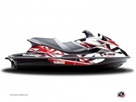 Yamaha VXR-VXS Jet-Ski Mission Graphic Kit Red