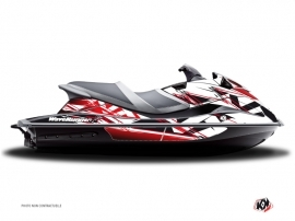 Yamaha VXR-VXS Jet-Ski Mission Graphic Kit Red