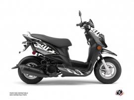 Yamaha ZUMA 50FX Scooter Mission Graphic Kit Black Grey