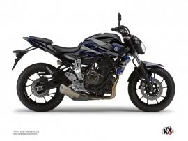 Kit Déco Moto Night Yamaha MT 07 Noir Bleu