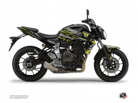 Kit Déco Moto Night Yamaha MT 07 Noir Jaune