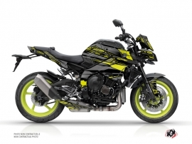 Kit Déco Moto Night Yamaha MT 10 Noir Jaune