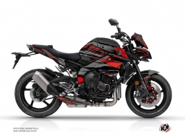 Yamaha MT 10 Street Bike Night Graphic Kit Black Red