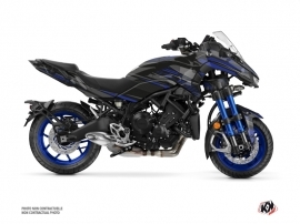 Yamaha NIKEN Street Bike Night Graphic Kit Black Blue