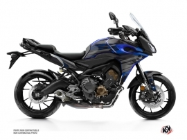 Yamaha TRACER 900 Street Bike Night Graphic Kit Black Blue